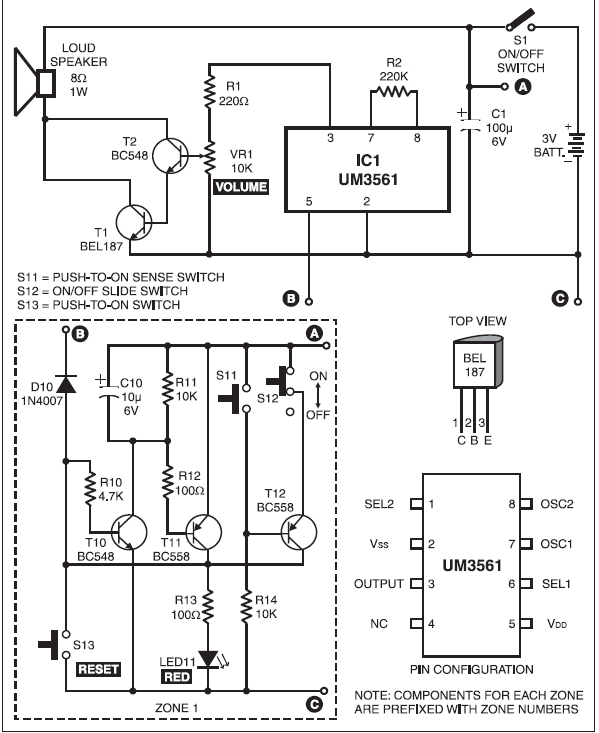 5271bfbfb 1  Monitoring circuit along with the alarm circuit